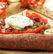 pizza integral con horno de pan